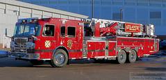 Port Washington FD - Atlantic Hook and Ladder 8517 (Seth Granville) Tags: spartan erv tower ladder 93 port washington atlantic hook fire department truck