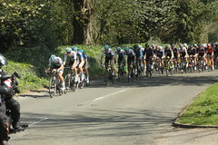 Tour of the Wolds - Stainton le Vale (Steve Dawson.) Tags: tourofthewolds mens cycle race britishcycling peloton bikes lycra staintonlevale lincolnshire wolds england uk 9th april 2017 canoneos50d canon eos 50d ef28135mmf3556isusm ef28135mm f3556 is usm