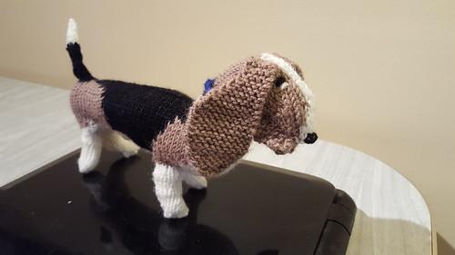 Basset hound for Carol's fundraiser