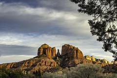 another view of Cathedral Rock, Sedona, AZ at sunset (TAC.Photography) Tags: cathedralrock sedona arizona redrock sunset sunsetlight warmlight tomclark tomclarkphotographycom tacphotography