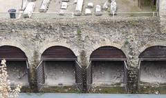 010 Shoreline  Storerooms (boathouses), Herculaneum (7) (tobeytravels) Tags: herculaneum shoreline storage boathouse bodies skeletons