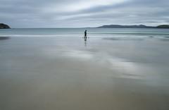 Aquamarine (annemcgr) Tags: donegal dunfanaghy ireland beach motionblur coast water mountains fineartphotography annemcgrath