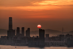 Devil's Peak, Hong Kong (mikemikecat) Tags: devils peak hong kong mikemikecat scenery sunset cityscapes 香港 九龍灣 日落 fe70200mf4goss sel70200g sony a7r 天空 夕陽 夕空 夕暮れ 魔鬼山 yautong