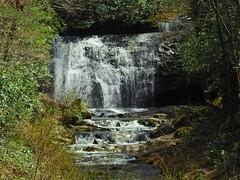 1351ex2 Meigs Falls after spring rains (jjjj56cp) Tags: falls waterfall waterfalls cascade cascading meigsfalls upperfalls smokies gsm greatsmokymountains greatsmokymountainsnationalpark gsmnp spring flowing p900 jennypansing