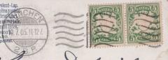(Gadsden1500) Tags: postwertzeichen bayern briefmarken 5pfennig 1905 poststempel