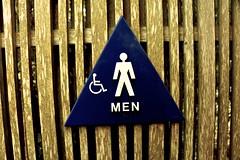 Men (LookSharpImages) Tags: sign men mensign bathroomsign bathroom