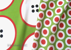 'GIANT red-rimmed button polka dots...' and 'Red + white buttonsnaps or polka dots on green by Su_G': on basic cotton (Su_G) Tags: sug 2017 greenery green redandwhite redandgreen red redwhitegreen greenredwhite sewing giantredrimmedbuttonpolkadotsongreenbysug redwhitebuttonsnapsorpolkadotsongreenbysug polkadots polkadot dots dot dotty dotted botton buttonsnaps haberdashery giantredrimmedbuttonpolkadots redwhitebuttonsnapsorpolkadots coordinates matchymatchy spring summer bright bold large giant graphic spoonflower0372 spoonflower spoonflowercontest spoonflowerdesignchallenge swatch basiccottonultra