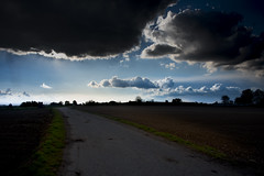 road (philippe.schoen) Tags: nature fields clouds shadow champs nuages ombre nikon d750 fx
