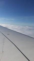 Landing in London (El Cheech) Tags: timelapse pilot aerial skyview high fly flight heathrow eurotrip europe wing descent sky clouds city unitedkingdom uk england london takeoff landing airplane airport