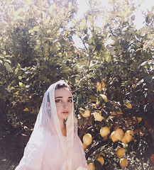 04 (e.josétorres) Tags: woman girl mujer spain espana marriage lemon tree white saint blue eyes portrait chica