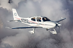 Over The Top - Oregon  USA (Baron von Speed) Tags: c2a copac2a cirrus formationclinic krdm oregon rdm redmond sr22 ©baronvonspeed2017 madras unitedstates us n769cd clouds vfroverthetop 3i9a6658edit