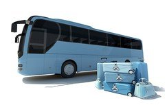 Coach bus and luggage (kaannc7) Tags: bus coachbus tourbus traveltransportation tourism journey luggage baggage suitcase case charter holidays passenger shuttle transit transport vacation vehicle 3drendering blue spain