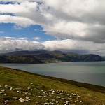 Snowdonia from The Great Orme, Wales thumbnail