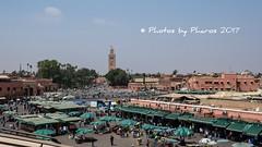 Morocco 2017 (Julie H. Ferguson (Photos by Pharos)) Tags: morocco travel medinas souks markets citysquare stalls djemaaelfna marrakech mosque