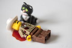 Who shot the sheriff ? (Eiona R.) Tags: songlyrics crime macromondays legominifigures
