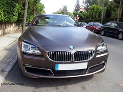 BMW 650i xDrive Gran Coupe (JSolanellas) Tags: new cars beautiful speed frozen amazing nice metallic year fast bmw alemania specs gran plates kg mate brand ao coupe weight detalles supercar v8 metalic matte exhaust escapes supercharged peso supercars datos tecnica specifications ficha acceleration especificaciones tecnicos 650i xdrive aceleracion metalizado nikonlover 8cylinders superdeportivo 8cilindros supercarinsanity carsdaily frozenbronzemetalizado