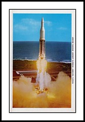 NASA Postcard Folder, 1964 (Cosmo Lutz) Tags: postcard nasa rocket saturn launch 1964