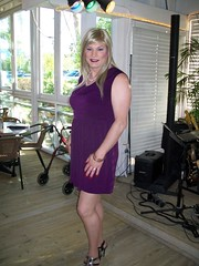 Susan at farwell dinner (susanmiller64) Tags: trip friends vacation lasvegas susan cd crossdressing transgender miller crossdresser gender tg divalasvegas