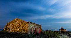 El faro y la casita (Ch3micals) Tags: faro casa nocturna isla tabarca