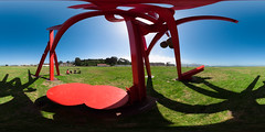 Mark di Suvero in Crissy Field (scloopy) Tags: sanfrancisco panorama sculpture markdisuvero spherical crissyfield equirectangular crissyfie