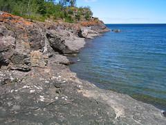 Gooseberry Falls State Park shoreline