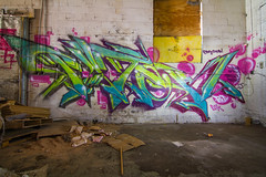 PATER (TheLost&Found) Tags: light urban building art abandoned painting graffiti paint sharp explore graff dope burner exploration nk winky urbex pater braindead fst