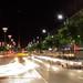 Nighttime on the main street