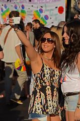 13 ORGULLO 1139 copia (Cazador de imgenes) Tags: madrid street gay party summer espaa woman color colour girl female donna rainbow mujer spain flickr fiesta chica candid centro streetphotography fiestas glbt pride parade celebration prideparade lgbt verano streetphoto gaypride 13 espagne barrio spanien spagna spanje ragazza cabalgata gayprideparade paradagay spania chueca orgullogay mado celebracion  orgullo spange lgtb 2013 orgullomadrid rainbowparty madridpride madridgay pridemadrid rainbowpartie planetpride orgullo13 madridpride2013 orgullo2013