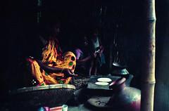 Kitchen of a Bangladeshi Village (Sheikh Shahriar Ahmed) Tags: film cooking kitchen analog village l 1997 yashica dx mf2 delduar sheikhshahriarahmed mamudpur