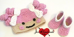 """Crochet Lalaloospy Set • <a style=""""font-size:0.8em;"""" href=""""http://www.flickr.com/photos/66263733@N06/9403550487/"""" target=""""_blank"""">View on Flickr</a>"""