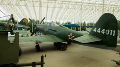 Bell P-63C-5-BE Kingcobra in Moscow (J.Com) Tags: park museum force bell russia moscow aircraft aviation air victory usaf 08 pobedy kingcobra p63 p63e 444011
