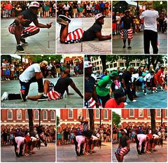 YK Street Dancers (SnapshotsByA) Tags: life street light boston travels thecity sunny happypeople bostonians