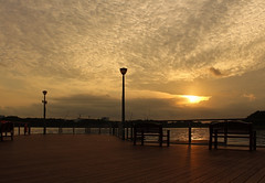 Send in the Clouds (rogelio g arcangel) Tags: lighting morning sunset silhouette clouds sunrise dawn lights singapore asia sundown cloudy reservoir goldenhour cloudysky rainclouds bedok reservoirs cloudyskies bedokreservoir bedokreservoirsingapore