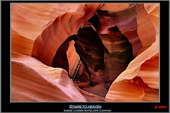 Stairs to heaven (pharoahsax) Tags: world arizona usa get southwest colors rock stairs america sandstone heaven canyon treppe page antelope lower slot amerika sandstein 2012 felsen sdwesten pmbvw worldgetcolors