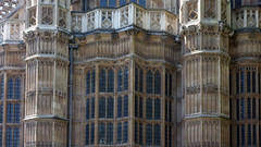 Henry VII Lady Chapel exterior detail, Westminster Abbey (profzucker) Tags: london english westminster architecture parliament palace barry 1840 gothicrevival pugin