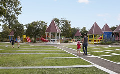Hidden World playground, part of Bill Brown Sports Reserve, Fitzgibbon (Brisbane City Council) Tags: park family playground play parks fitzgibbon hiddenworld fitzgibbonparks hiddenworldplayground billbrownsportsreserve