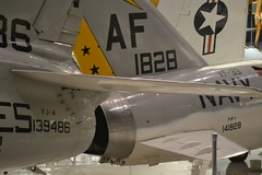 FJ-4_Tail_ThreeQuarters4 (AJ's Airplanes) Tags: fury nationalnavalaviationmuseum fj4