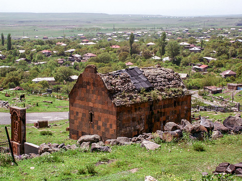 The church of St. Grigor (13th-14th centuries). Kosh village, Armenia