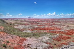 the painted desert (vrot01) Tags: park arizona colors canon landscape desert painteddesert explore wife eosm snapseed 22f20