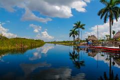 Everglades by Airboat (JMartinC) Tags: agua miami reflejo everglades nube