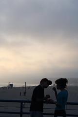 two (windysmiles) Tags: california boy summer two sky usa love beach girl clouds america fun la losangeles sand couple nuvole estate emotion sweet santamonica pair dolce eat cielo sweetness amore spiaggia due dolcezza ragazza coppia sabbia ragazzo divertimento paio statiuniti emozione