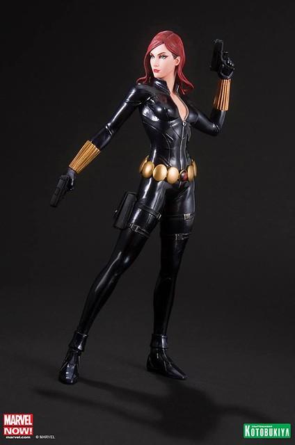 壽屋 – MARVEL NOW! ARTFX+ Statue 復仇者聯盟 美國隊長 黑寡婦 1/10 雕像作品