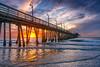 Imperial Beach Pier (mojo2u) Tags: ocean california sunset beach pier sandiego imperialbeach imperialbeachpier ibpier nikon2470mm nikond800