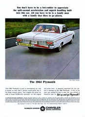 1964 Plymouth Fury white 2 door hardtop (Rickster G) Tags: car ads flyer 60s muscle satellite plymouth convertible literature 1966 transit valiant belvedere hemi mopar sales brochure rapid 440 fury wedge compact 1964 1965 dealer 1963 340 426 petty gtx 383 4406 sixbarrel scatpack
