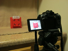 Fire alarm photo shoot (SchuminWeb) Tags: camera houses homes light red house black alarm home kitchen june metal digital canon table fire firealarms photography lights is photo firealarm kitchens shoot power counter shot ben 10 web tripod tan horns screen powershot photographs photograph cameras cooper behind horn tripods cloth tablecloth scenes appliance screens appliances strobelights strobe 2012 wheelock alarms sx strobelight counters strobes notification sx10is schumin schuminweb hornstrobe 7002t