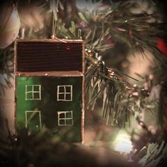 """Jellybean"" House Ornament (Tracy Christina) Tags: christmas house canada green newfoundland december stjohns christmastree ornament jellybeanhouse"