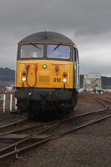 Inv13095 MillbnYd 56312 0Z56 1110 to Mossend 311213 (retbsignalman) Tags: inverness dcr 56312