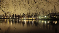 01.01-2014 (Vegar S Hansen Photography) Tags: light reflection rain canon project photography eos 1 photo day first s 365 hansen f28 14mm vegar 600d samyang