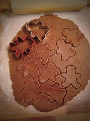 Baking Gingerbread cookies because... (queenbee2zz) Tags: yum gingerbreadcookies uploaded:by=flickrmobile flickriosapp:filter=nofilter