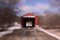 Red Covered Bridge #RedCoveredBridge #Princeton (Alka_007) Tags: bridge red countryside illinois covered princeton coveredbridge peoria 2014 illinoiscountryside redcoveredbridge